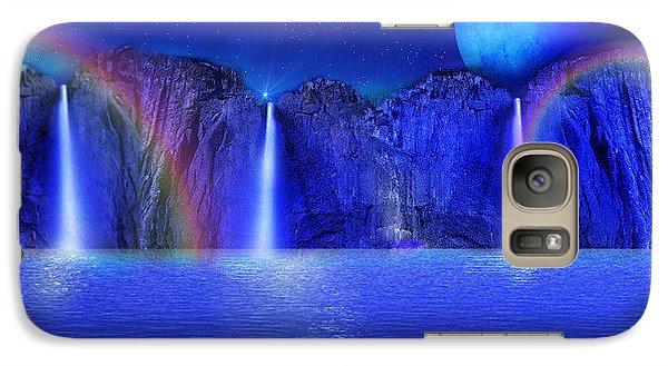 Galaxy Case featuring the photograph Nightdreams by Bernd Hau