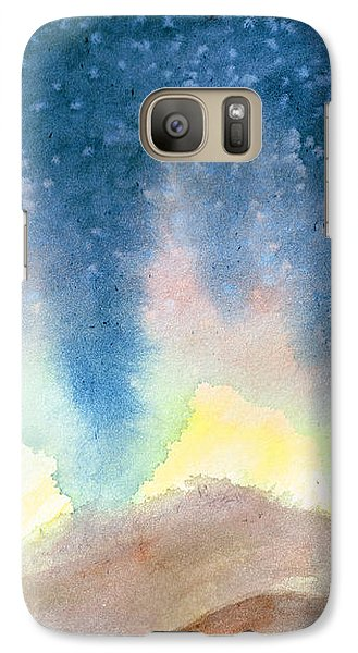 Galaxy Case featuring the painting Nightfall by Andrew Gillette