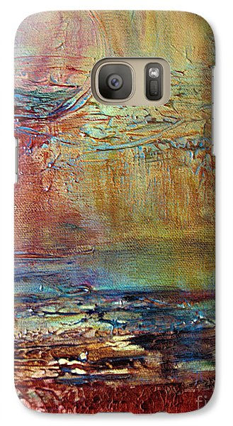 Galaxy Case featuring the painting Nightfall by Diana Bursztein