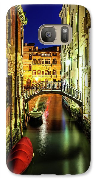 Galaxy Case featuring the photograph Nightfall In Venice by Andrew Soundarajan