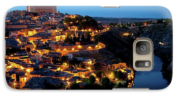 Galaxy Case featuring the photograph Nightfall Over Toledo by Harry Spitz
