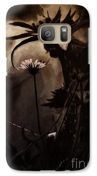Galaxy Case featuring the painting Nightflower by Vanessa Palomino