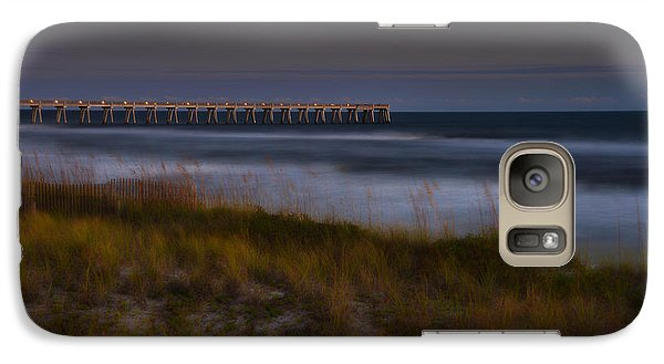 Galaxy Case featuring the photograph Nightlife By The Sea by Renee Hardison