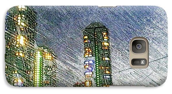 Tokyo River Galaxy S7 Case by Daisuke Kondo