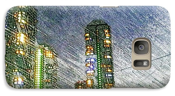 Tokyo River Galaxy Case by Daisuke Kondo
