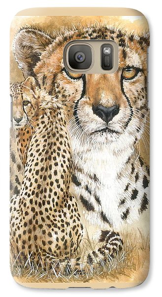 Galaxy Case featuring the painting Nimble by Barbara Keith