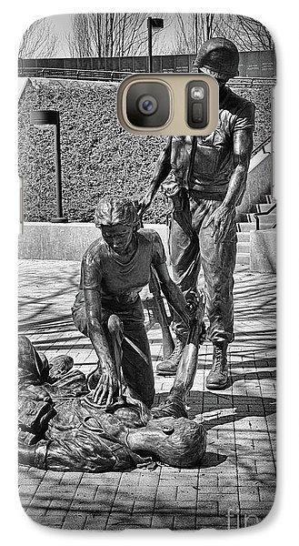Galaxy Case featuring the photograph Nj Vietnam Veterans Memorial by Paul Ward