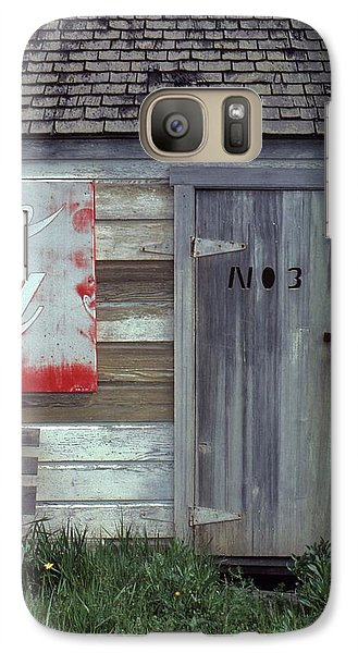 Galaxy Case featuring the photograph No. 3 by Laurie Stewart
