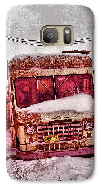Galaxy Case featuring the photograph No More Deliveries by Jeff Swan