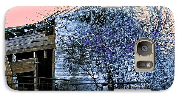 Galaxy Case featuring the photograph No Ordinary Barn by Betty Northcutt