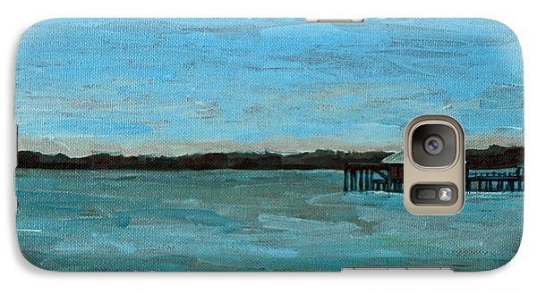 Galaxy Case featuring the painting No Rain Today by Suzanne McKee