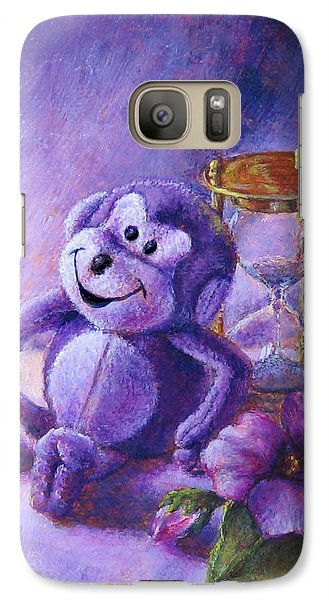 No Time To Monkey Around Galaxy S7 Case