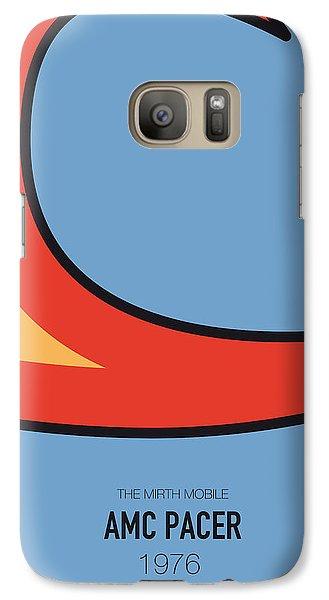 Knight Galaxy S7 Case - No010 My Waynes World Minimal Movie Car Poster by Chungkong Art
