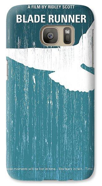 No011 My Blade Runner Minimal Movie Poster Galaxy S7 Case