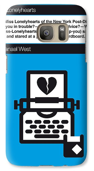 No011-my-miss Lonelyhearts-book-icon-poster Galaxy Case by Chungkong Art