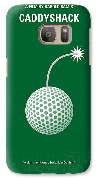 No013 My Caddy Shack Minimal Movie Poster Galaxy S7 Case