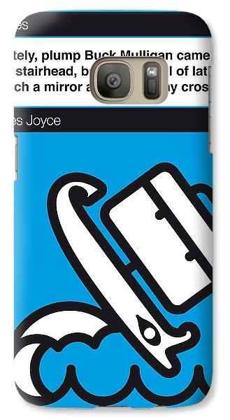 No021-my-ulysses-book-icon-poster Galaxy Case by Chungkong Art