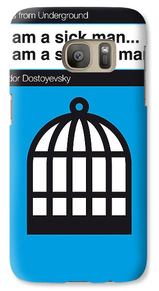 London Tube Galaxy S7 Case - No031-my-notes From Underground-book-icon-poster by Chungkong Art