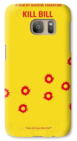 No048 My Kill Bill -part 1 Minimal Movie Poster Galaxy S7 Case