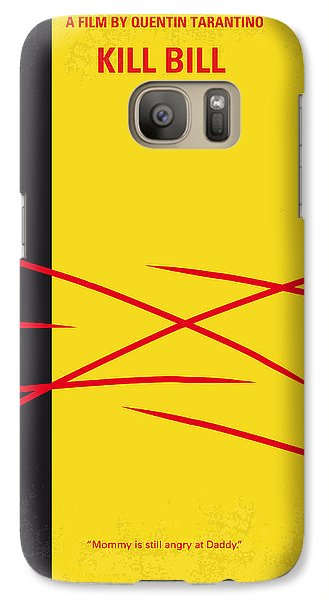 No049 My Kill Bill-part2 Minimal Movie Poster Galaxy S7 Case