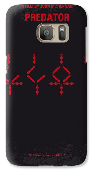 No066 My Predator Minimal Movie Poster Galaxy S7 Case