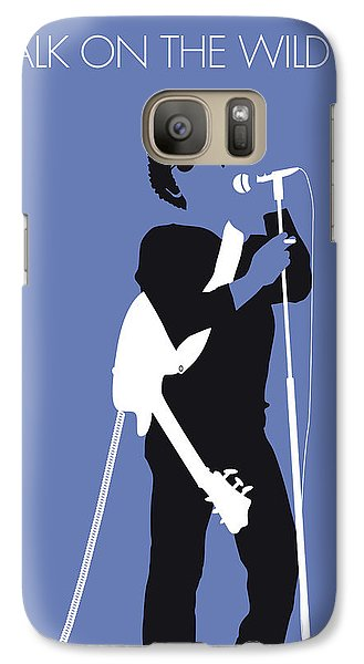 Fairy Galaxy S7 Case - No068 My Lou Reed Minimal Music Poster by Chungkong Art