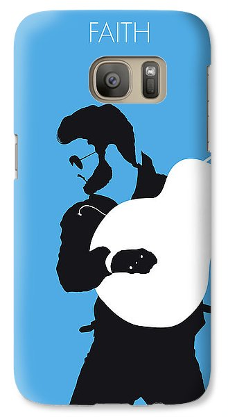 Rhythm And Blues Galaxy S7 Case - No089 My George Michael Minimal Music Poster by Chungkong Art