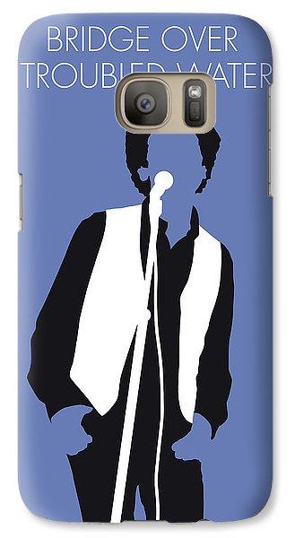 Folk Art Galaxy S7 Case - No098 My Art Garfunkel Minimal Music Poster by Chungkong Art