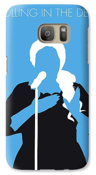 No099 My Adele Minimal Music Poster Galaxy S7 Case