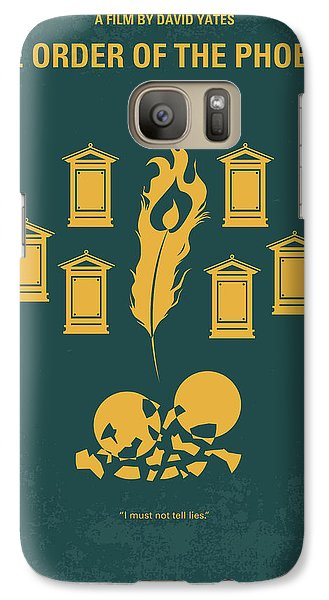 No101-5 My Hp - Order Of The Phoenix Minimal Movie Poster Galaxy S7 Case by Chungkong Art