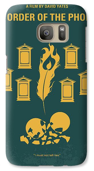 No101-5 My Hp - Order Of The Phoenix Minimal Movie Poster Galaxy Case by Chungkong Art