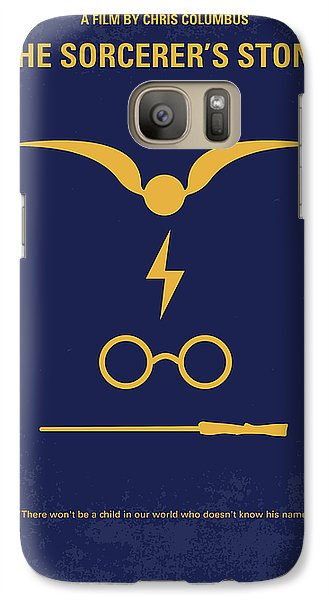 Time Galaxy S7 Case - No101 My Harry Potter Minimal Movie Poster by Chungkong Art