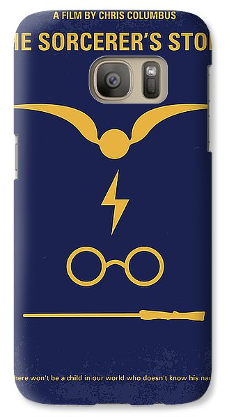 No101 My Harry Potter Minimal Movie Poster Galaxy S7 Case by Chungkong Art