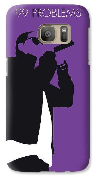 Jay Z Galaxy S7 Case - No101 My Jay-z Minimal Music Poster by Chungkong Art