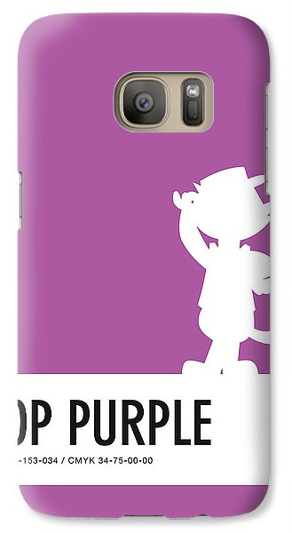 Mice Galaxy S7 Case - No11 My Minimal Color Code Poster Top Cat by Chungkong Art