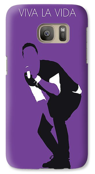 No121 My Coldplay Minimal Music Poster Galaxy S7 Case
