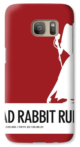 Mice Galaxy S7 Case - No14 My Minimal Color Code Poster Jessica Rabbit by Chungkong Art