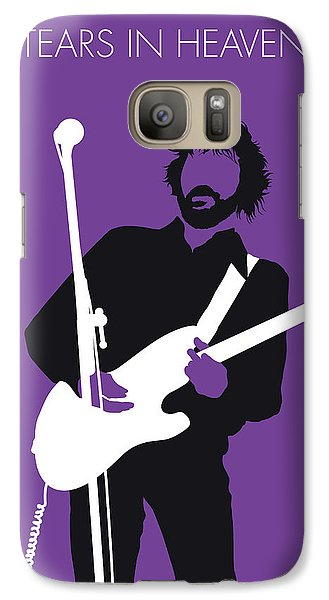 Eric Clapton Galaxy S7 Case - No141 My Eric Clapton Minimal Music Poster by Chungkong Art