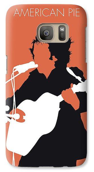 Folk Art Galaxy S7 Case - No143 My Don Mclean Minimal Music Poster by Chungkong Art