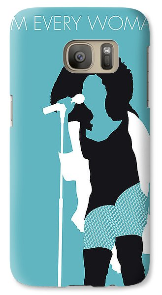Rhythm And Blues Galaxy S7 Case - No155 My Chaka Khan Minimal Music Poster by Chungkong Art