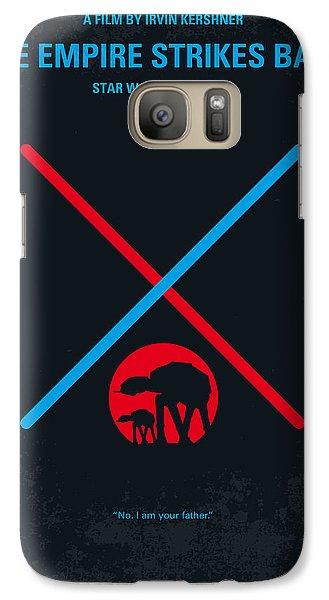 No155 My Star Wars Episode V The Empire Strikes Back Minimal Movie Poster Galaxy S7 Case