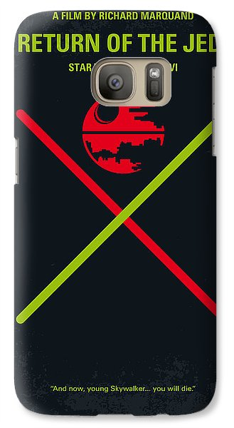 Knight Galaxy S7 Case - No156 My Star Wars Episode Vi Return Of The Jedi Minimal Movie Poster by Chungkong Art