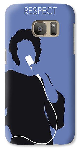 Rhythm And Blues Galaxy S7 Case - No188 My Aretha Franklin Minimal Music Poster by Chungkong Art