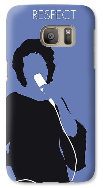 Rhythm And Blues Galaxy S7 Case - No188 My Aretha Franklin Minimal Music Poster by Chungkong Art