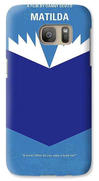 Magician Galaxy S7 Case - No291 My Matilda Minimal Movie Poster by Chungkong Art