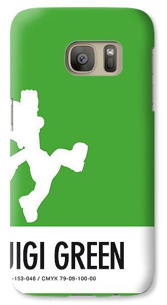 Daisy Galaxy S7 Case - No34 My Minimal Color Code Poster Luigi by Chungkong Art