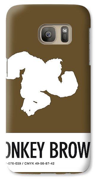 Daisy Galaxy S7 Case - No37 My Minimal Color Code Poster Donkey Kong by Chungkong Art
