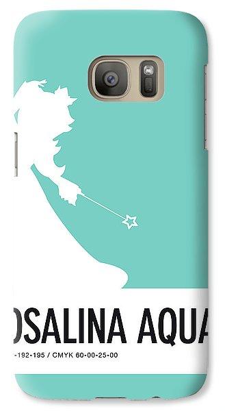 Daisy Galaxy S7 Case - No39 My Minimal Color Code Poster Rosalina by Chungkong Art