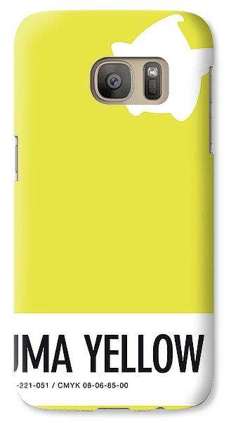 Daisy Galaxy S7 Case - No40 My Minimal Color Code Poster Luma by Chungkong Art