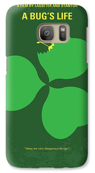 No401 My A Bugs Life Minimal Movie Poster Galaxy S7 Case